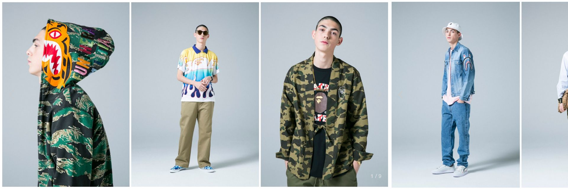 BAPE Unveils A Jam Packed