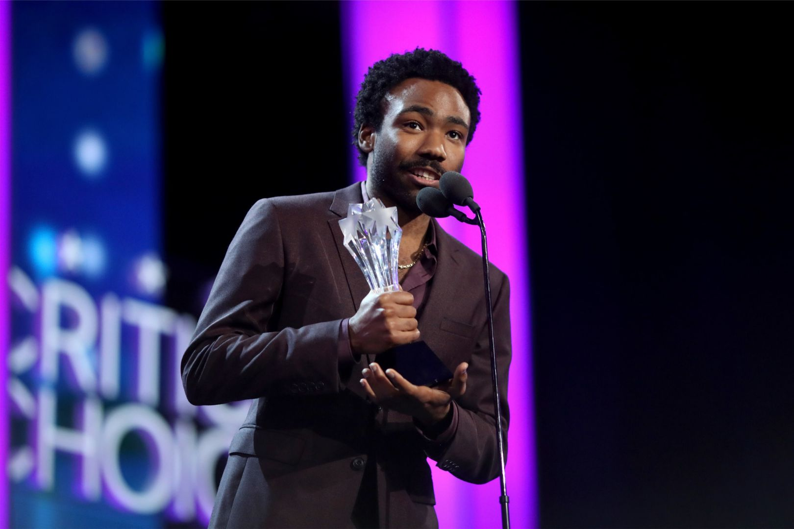 Donald Glover shouts out Migos