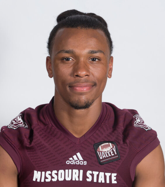 Missouri State Football Player Richard Nelson