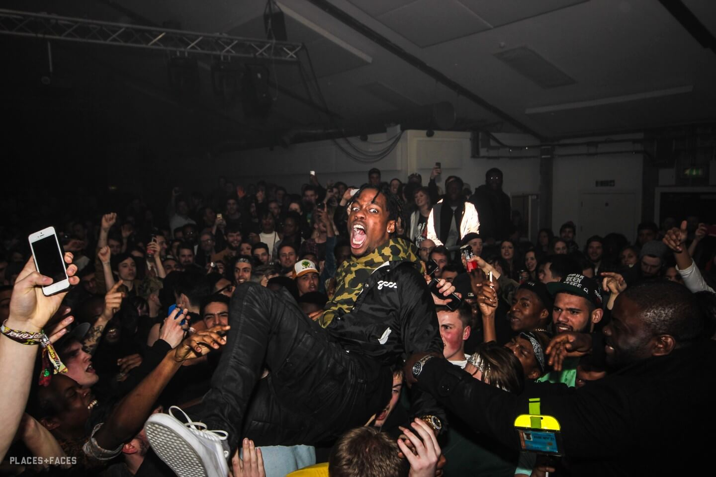 Travis Scott Kicks DJ