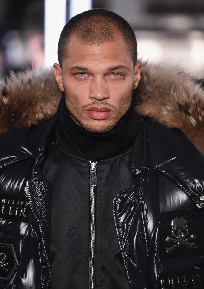 Jeremy Meeks Makes NYFW Debut