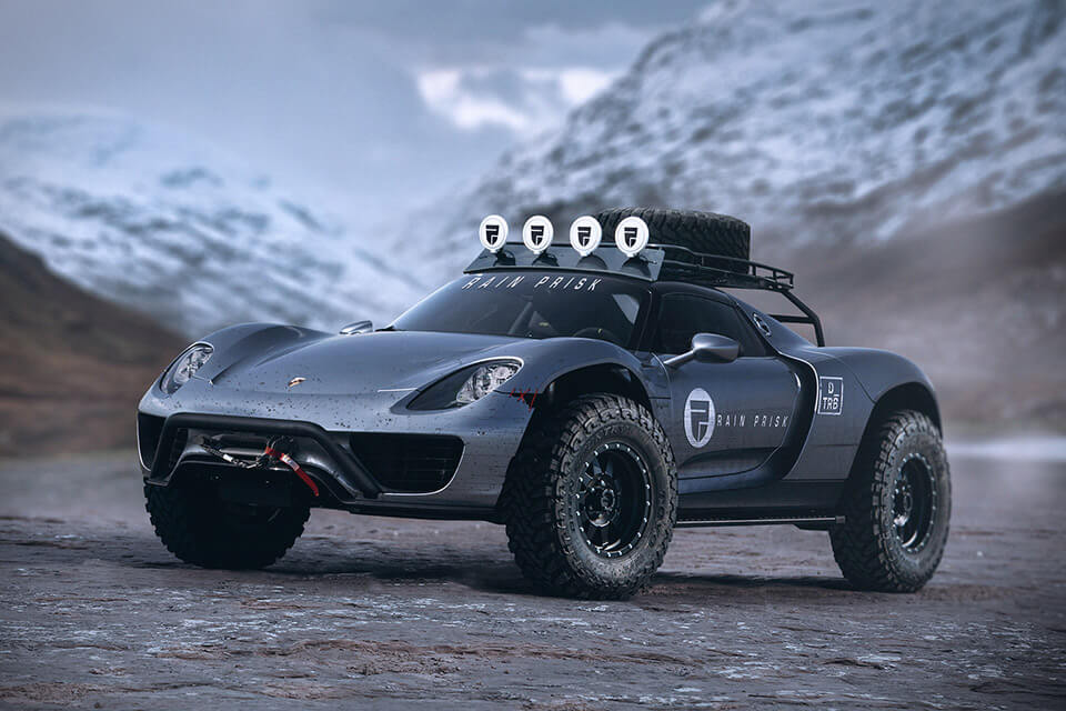 Make Room For The RAIN PRISK OFF-ROAD CAR CONCEPTS (3)