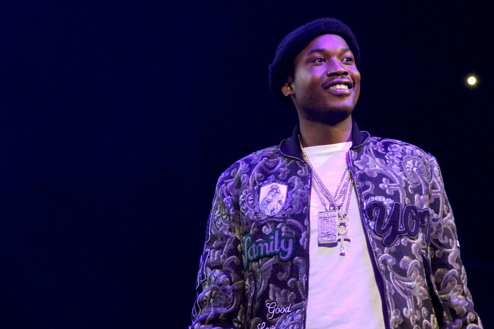 Meek Mill Friends Recognize the Fallen Angels(1)