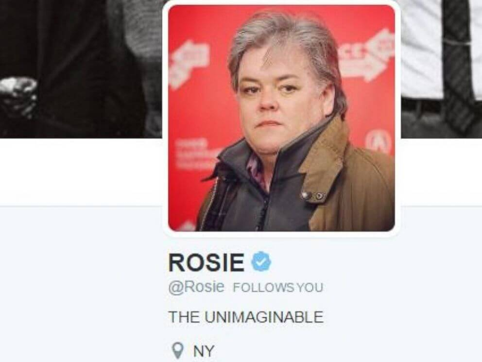 Rosie O Donnell Trolls White House (2)