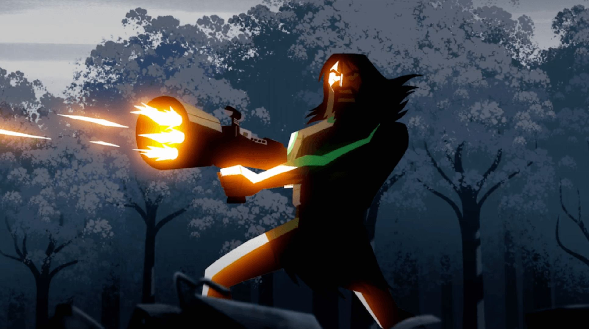Samurai Jack Bleeds in the Longest