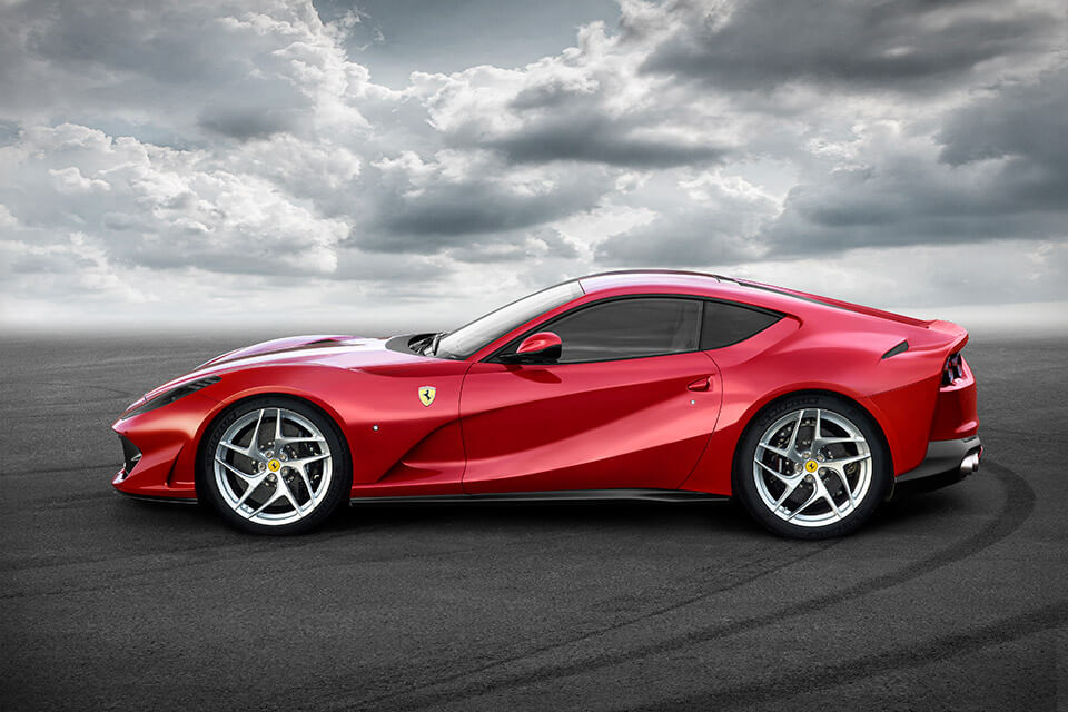 The 812 Superfast Is The Most Powerful Ferrari