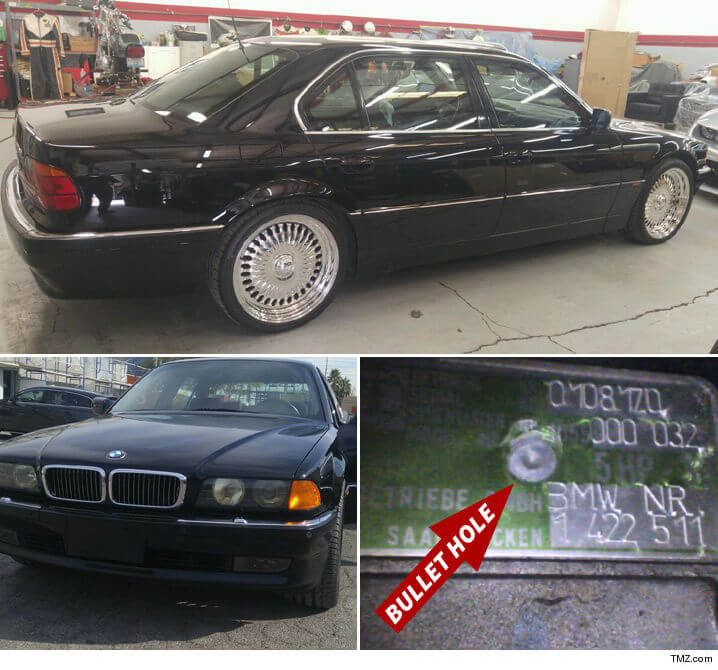 The Car Tupac Was Shot Dead In Is Now Up For Sale (2)