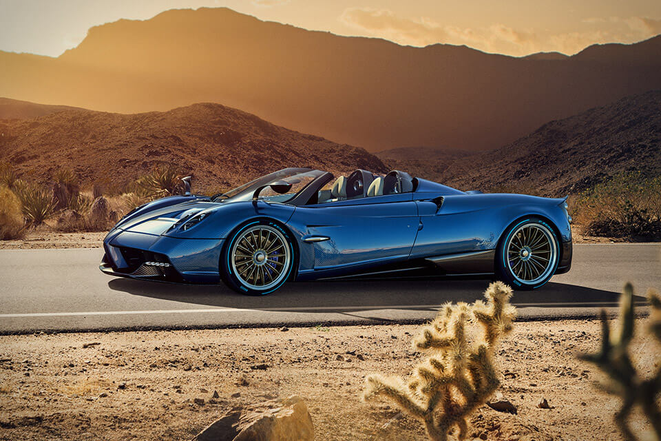 The Pagani Huayra Roadster