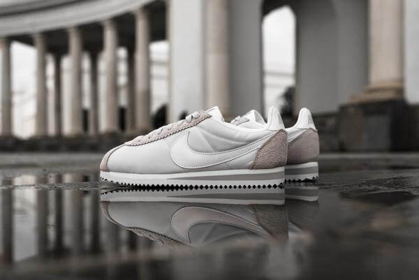 The Nike Cortez Nylon Goes Platinum (1)