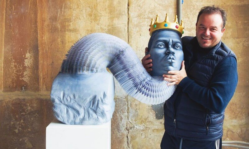 Notorious B.I.G Paper Sculpture Will Probably Make