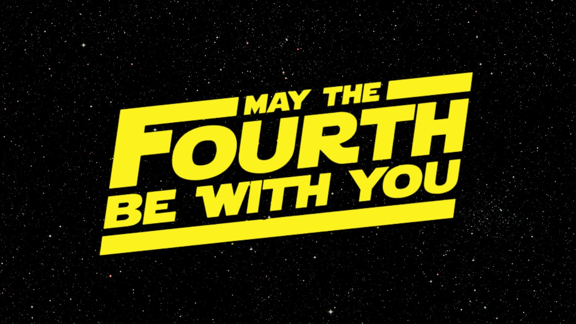 Today Marks Star Wars Day
