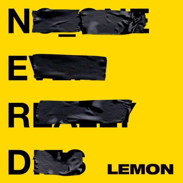 NO ONE EVER REALLY DIES N.E.R.D