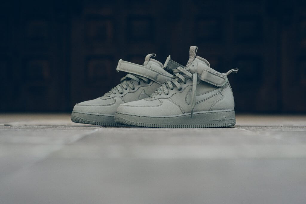 The Nike Air Force 1 Mid '07' Canvas Gets The