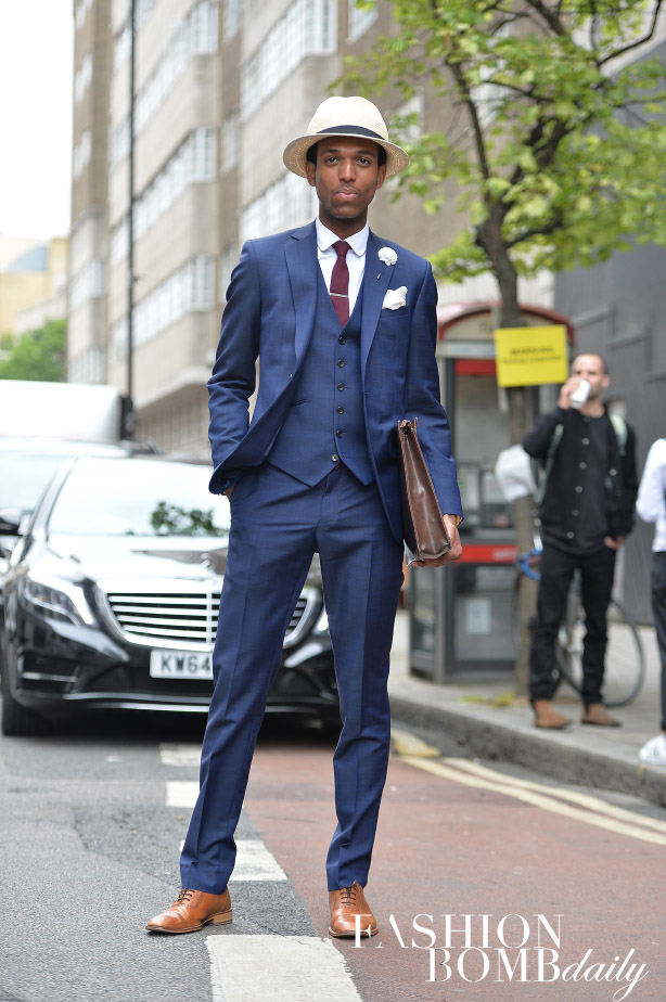 A three piece suit