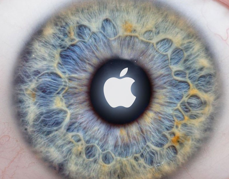apple-logo-iris-scanner