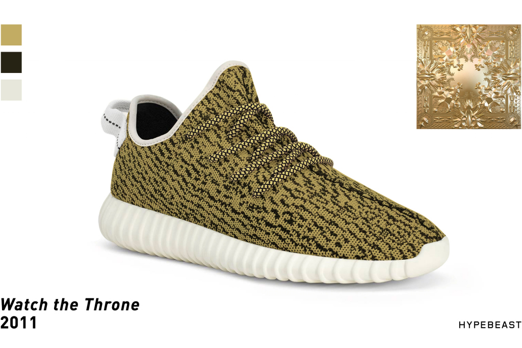cd556d9d07e Yeezy Boost 350s Inspired by Kanye Album Cover Palettes - Hypefresh Inc