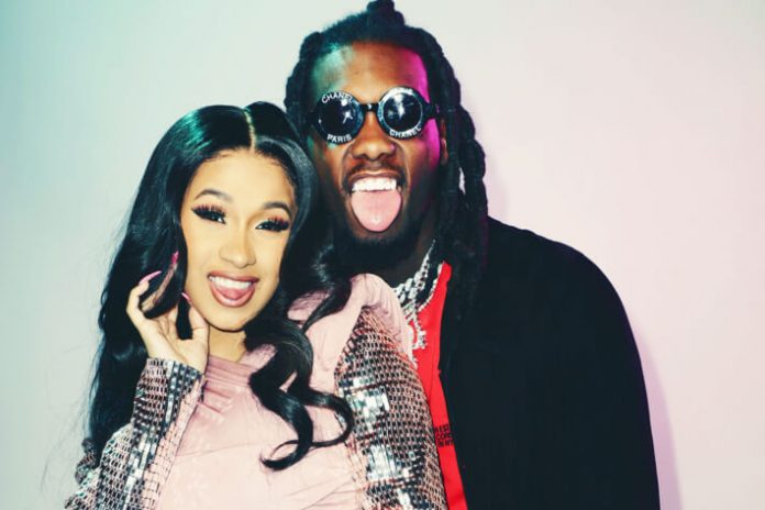 Cardi B And Offset Welcome