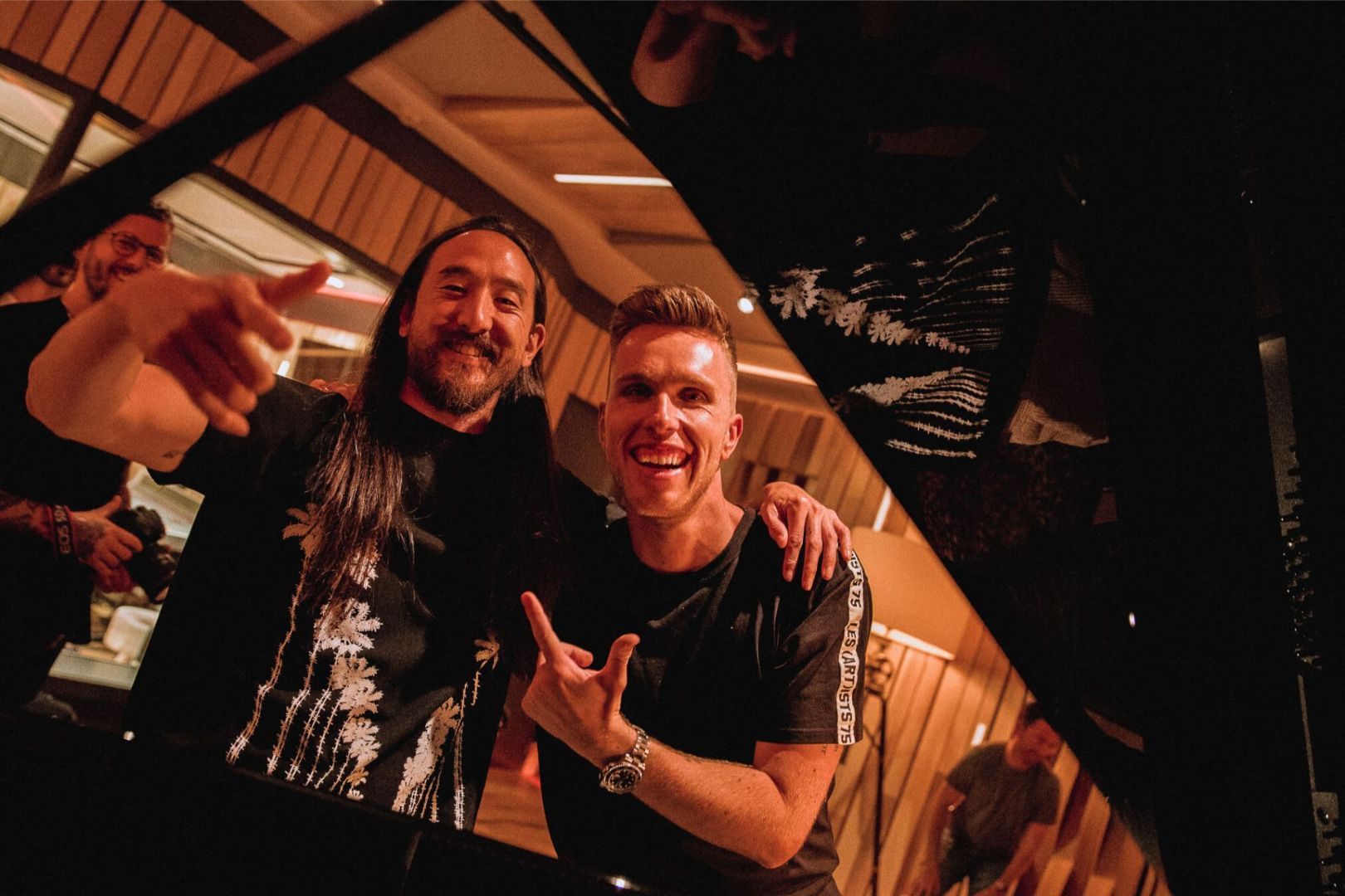 Nicky Romero and Steve Aoki Collaborate for Double(1)(1)
