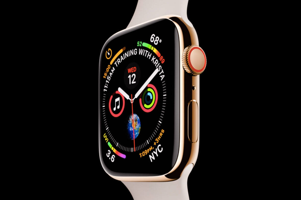 The Apple Watch 4 Is Thinner, Faster