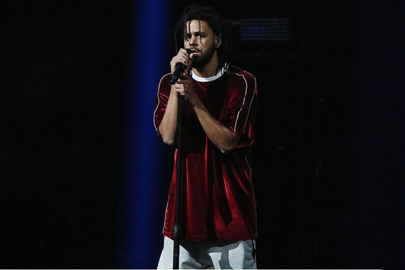 Watch J. Cole Pay Homage To Mac Miller