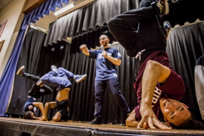 Teaching The Youth Through Dance