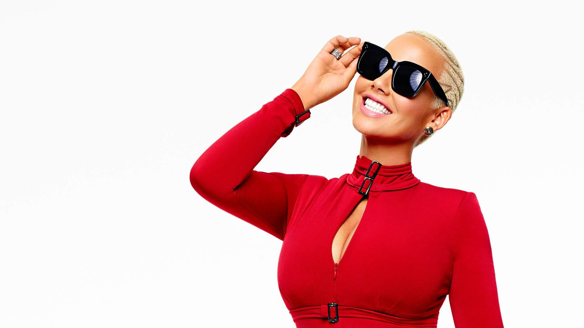 Amber Rose Gives Her Support