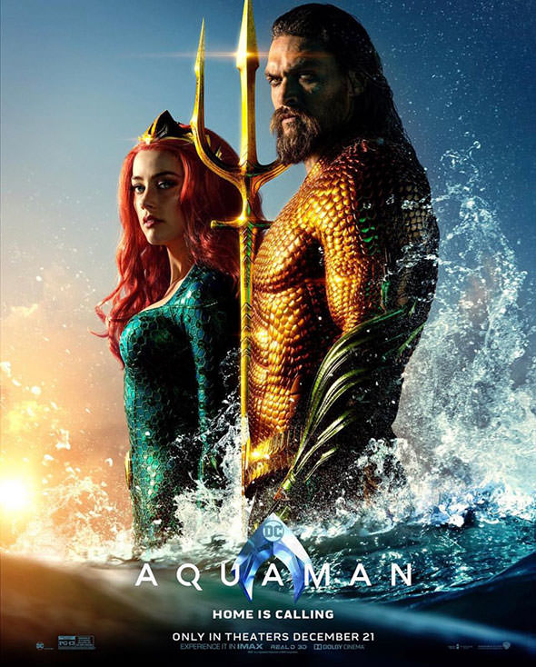 Aquaman gets a New Poster