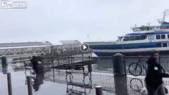 Ferry Smashes into San Francisco's Ferry Building