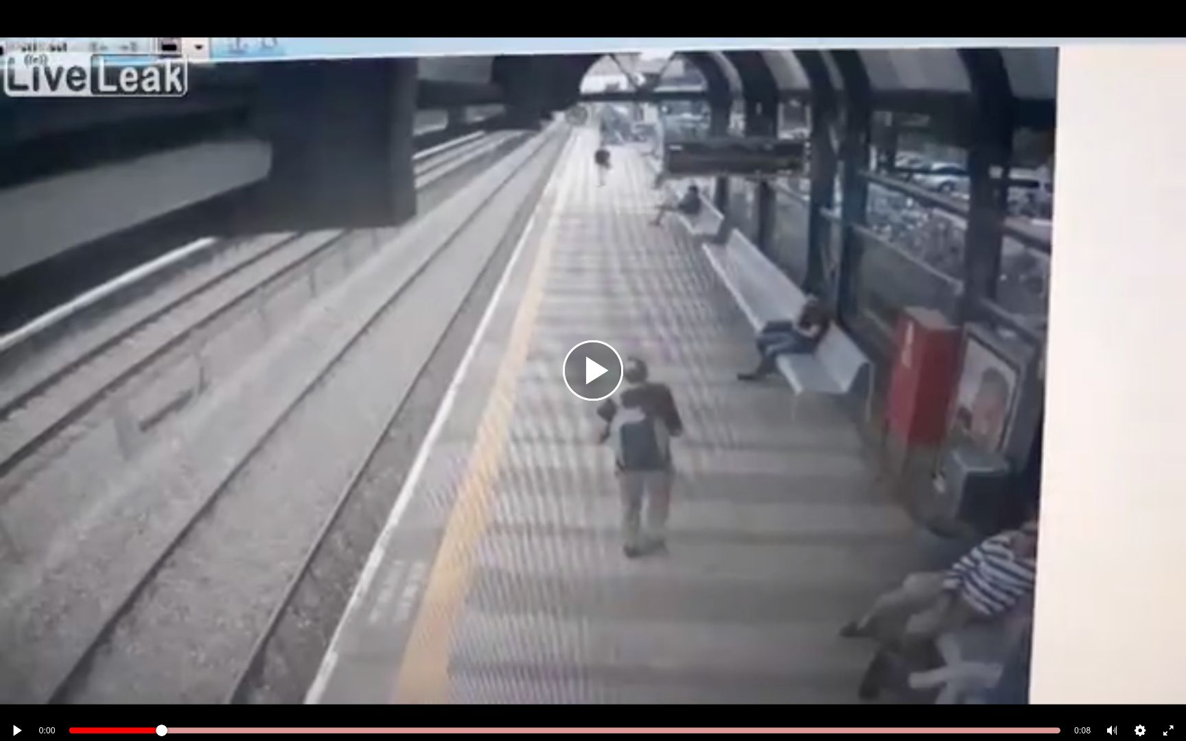 Man commits SUICIDE by train