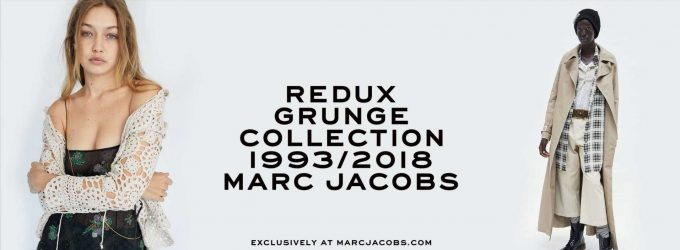 "Marc Jacobs is Reintroducing the ""Grunge"" Line"
