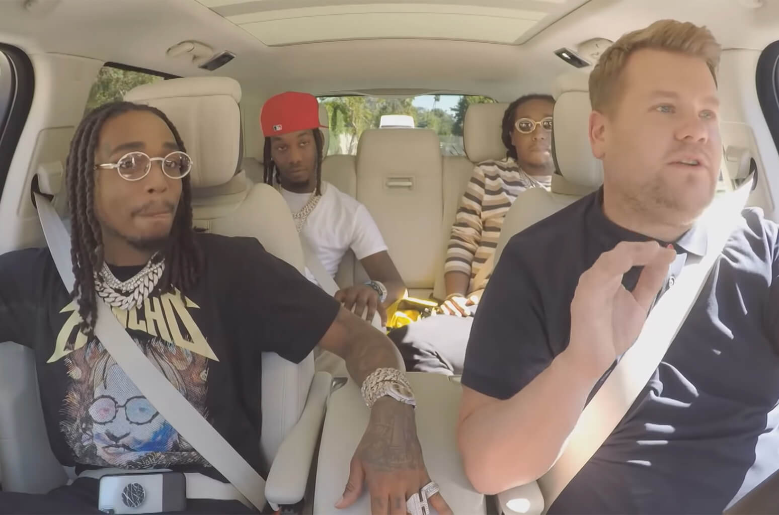 Migos Sing Karaoke And Dab With James Corden
