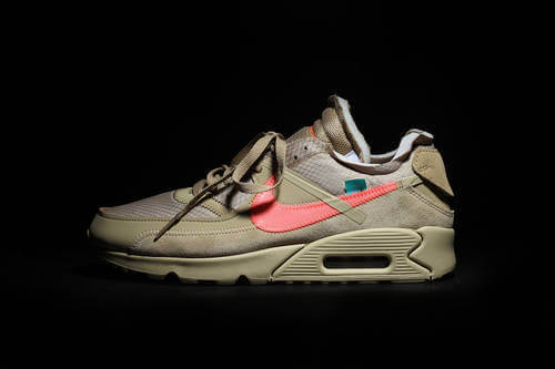 "The Off-White x Nike Air Max 90 ""Desert Ore"" Will Break Necks This Fall"