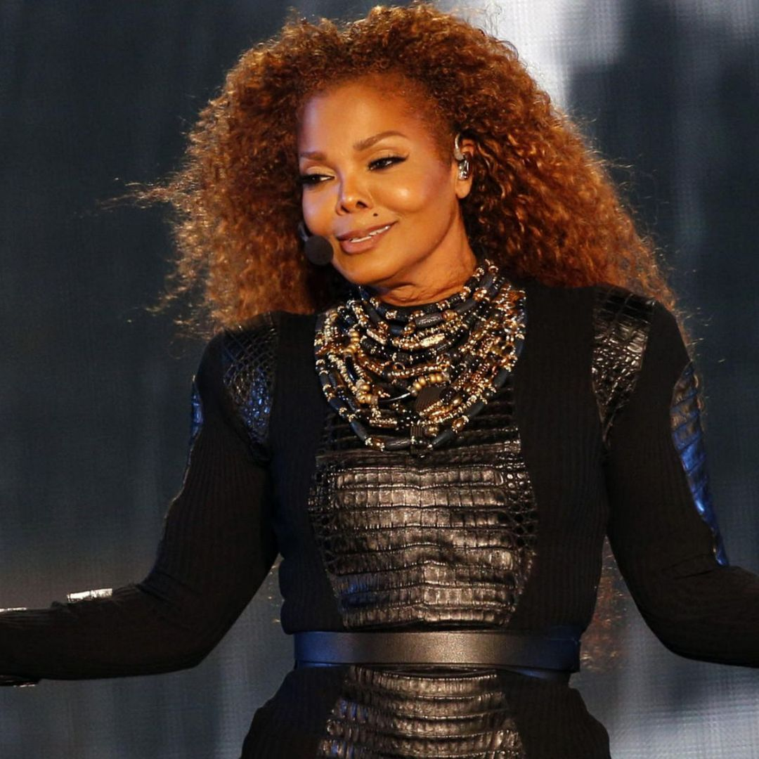 Janet Jackson joins the Rock