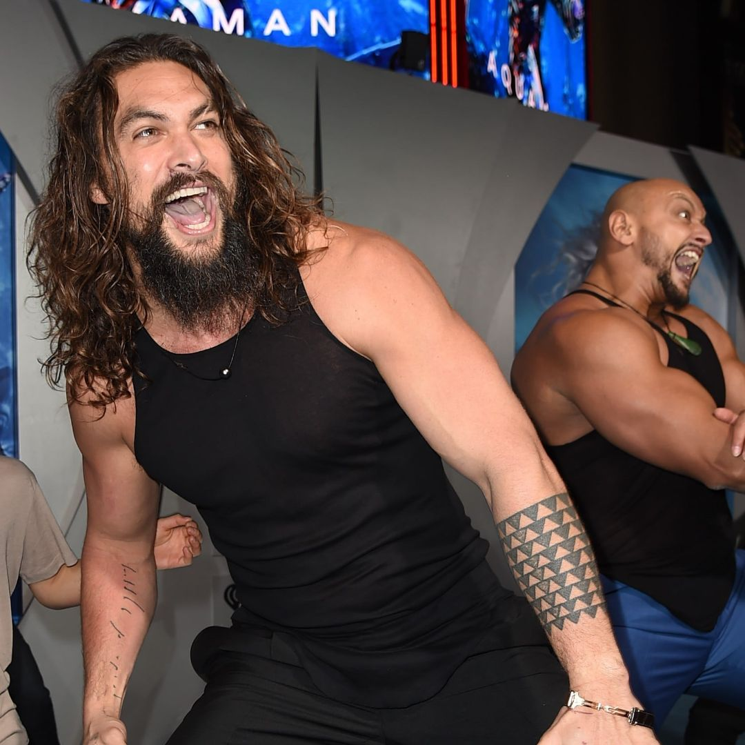 Jason Momoa light ups the Aquaman