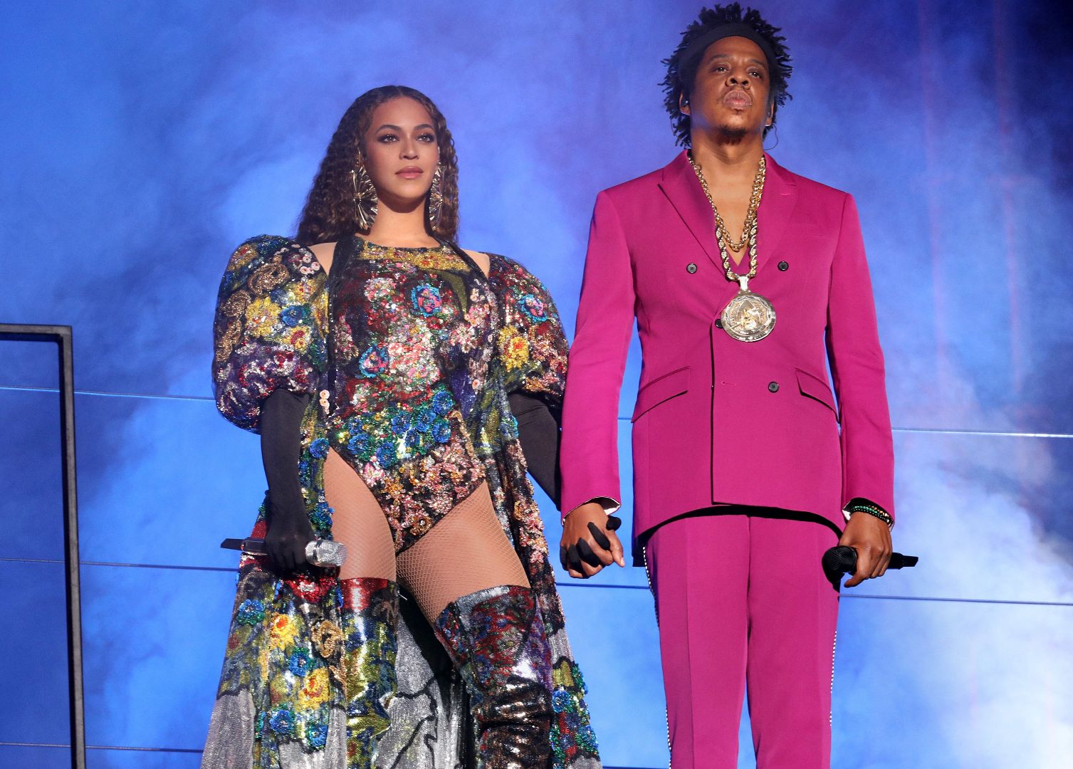 Jay And Bey Shut Down The Global Citizen Stage