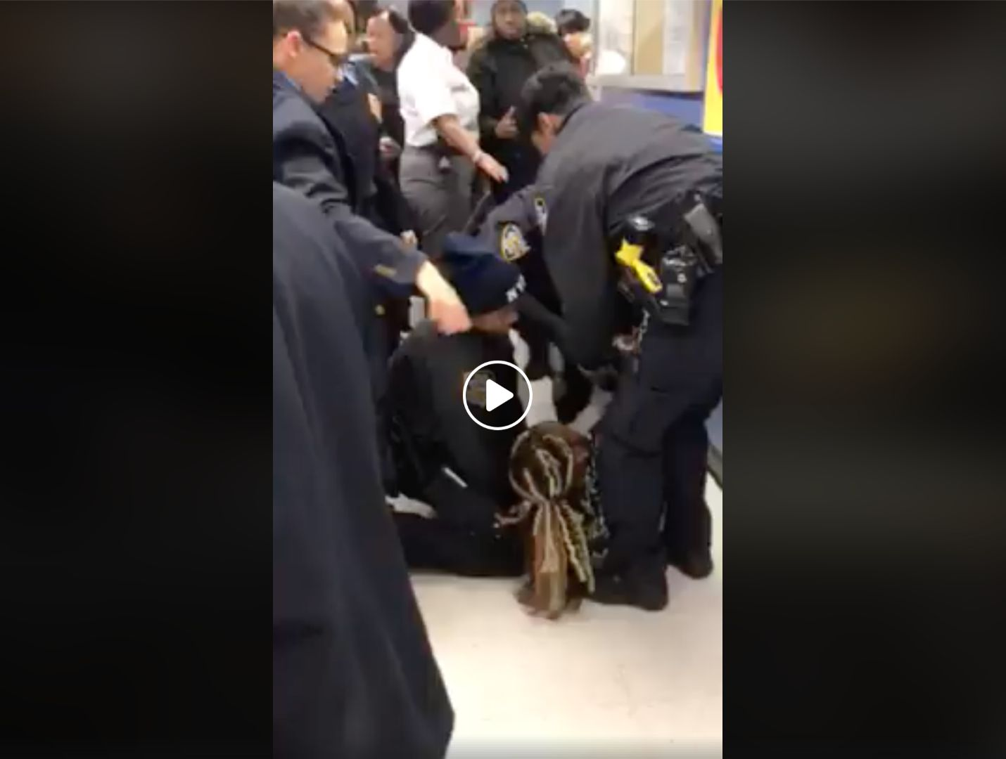 NYPD Police Caught Violently