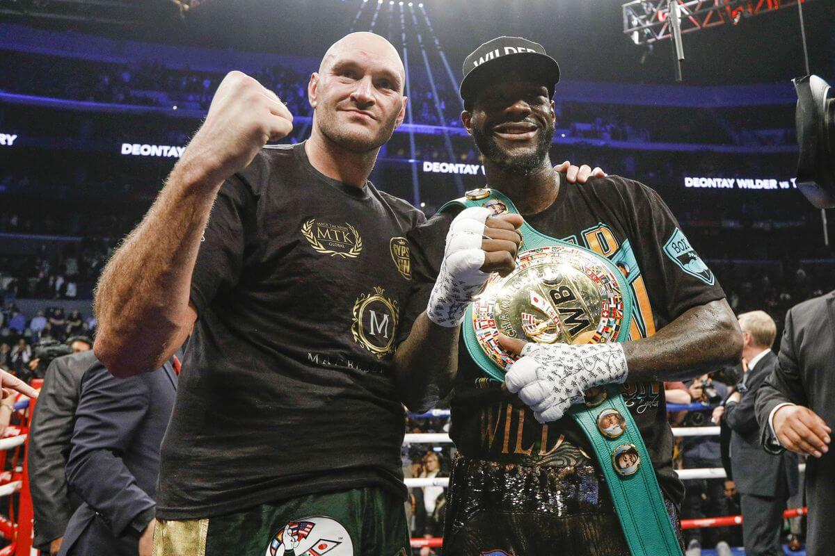 Wilder Vs Fury Ends In Split