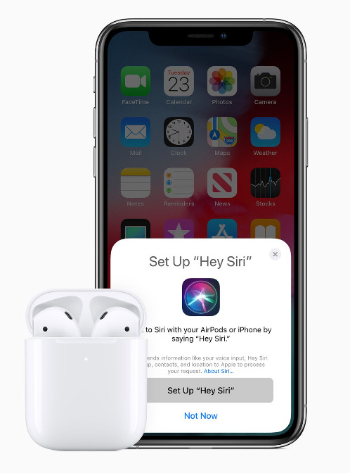 Apple Unveils AirPods 2 Along -1