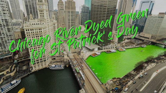 Oops! Too Much Green…Chicago River Causes a Twitter Reaction