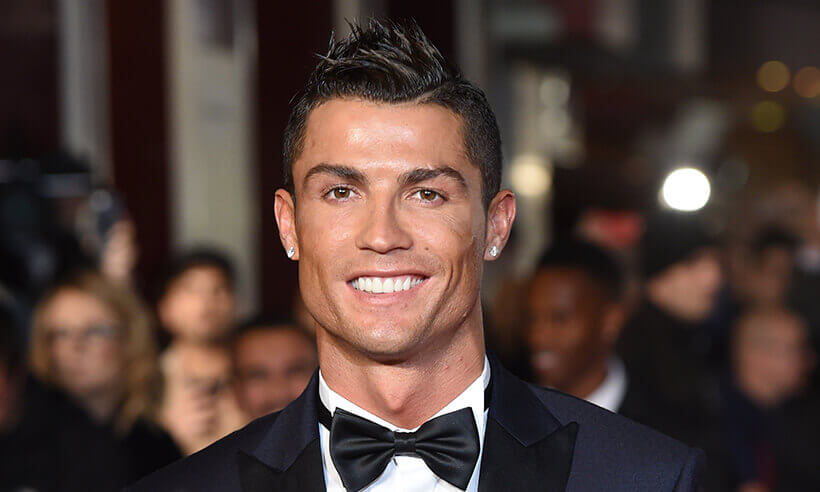Cristiano Ronaldo Out Here Selling Muthafuckin Hair Transplants