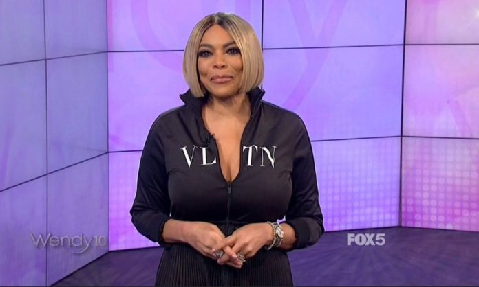 Wendy Williams Is A Walking