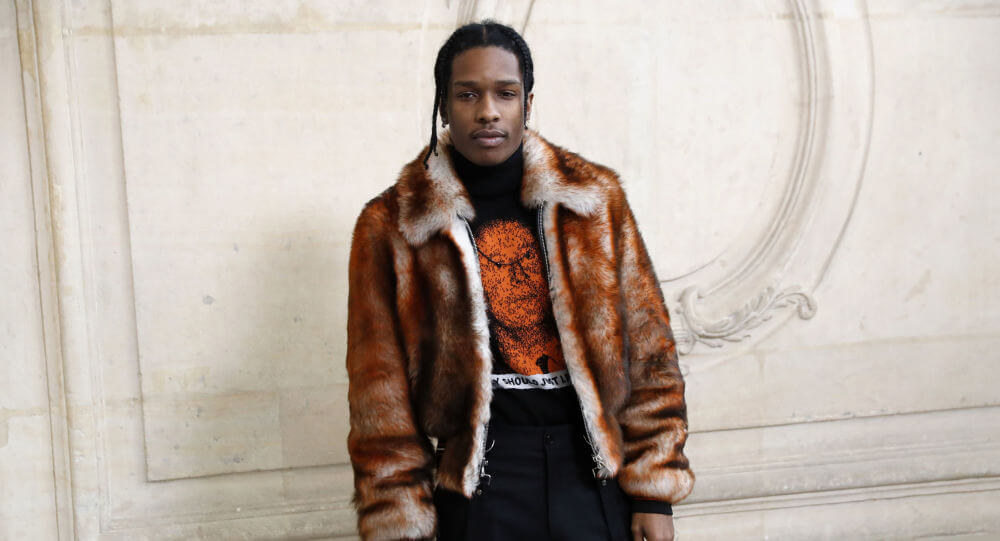 A$AP Rocky Is Out Here Living His Best