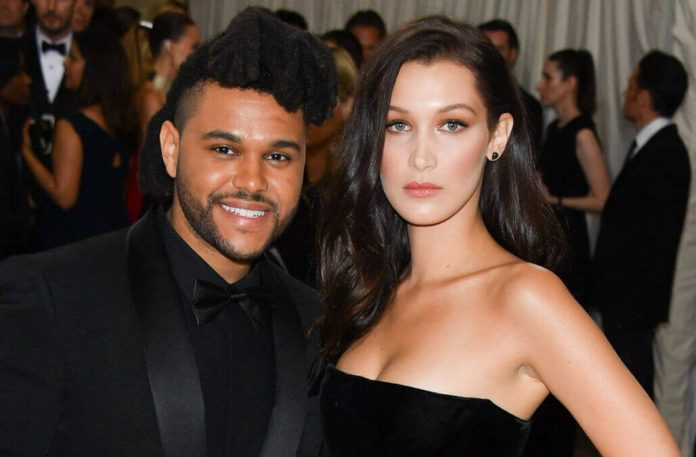 Bella Hadid And The Weeknd Call