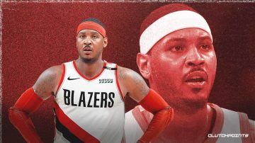 Carmelo Anthony signs with the Trail Blazers