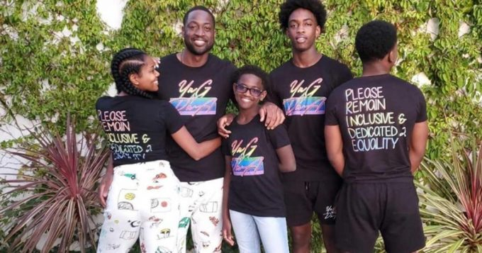 Dwayne Wade's 12 Year Old Says Call Me Zaya, Not Zion