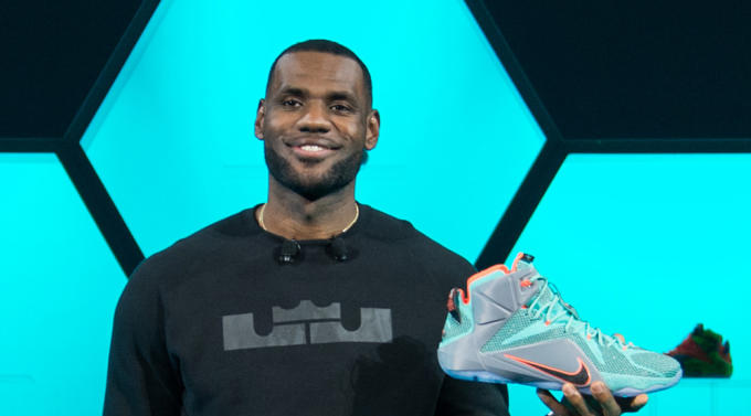 LeBron James Sneakers Nike Instagram