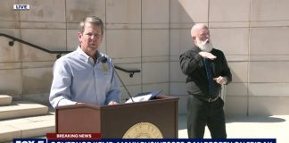 Georgias Governor Brian Kemp Plans to Reopen