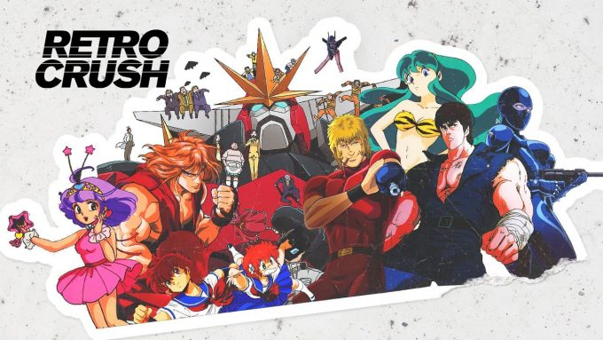 Retro Crush! Anime Classics Own App