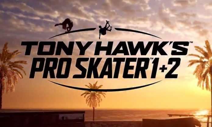 Tony Hawk's Pro Skater 1+2 Tony Hawk THPS 1+2 this 1+2