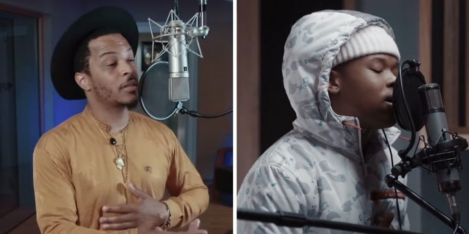 "T.I And Nasty C Perfrom ""They Don't""  On Seth Meyers"